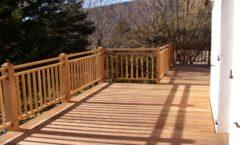 Les terrasse et les finitions