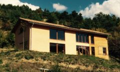 Maison ossature bois à la Faurie