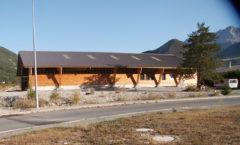 Atelier pour construction de maisons bois - Intradosse à Montmaur
