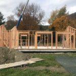 La rapidité de construction du bois