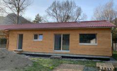 Maison en ossature bois de plain pied sur Veynes